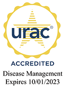 urac logo - Accredited Disease Management Expires 10/01/2023