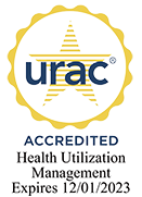 urac logo - Accredited Health Utilization Management Expires 12/01/2023