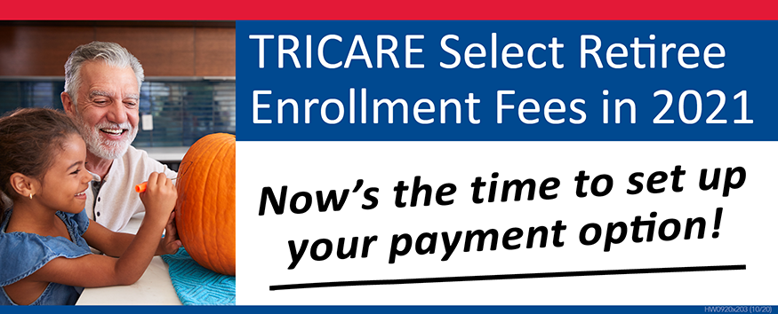 Set Up TRICARE Select Group A Allotment